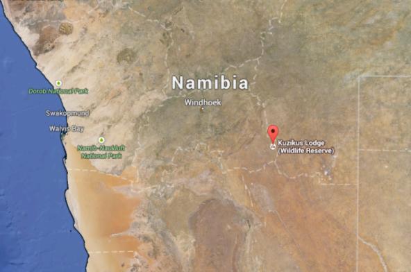 Namibia Map 2
