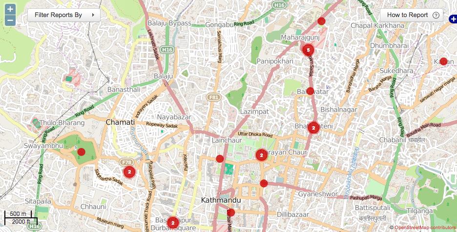 KLL Nepal Map
