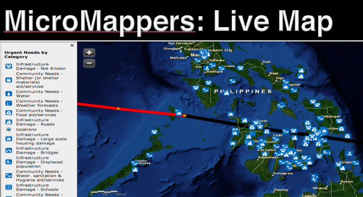 MM Haiyan 2013 Tweet Map
