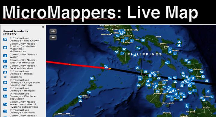 MM Haiyan 2013 Tweet Map