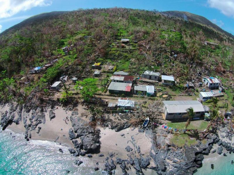Aerial Image Nguna Island
